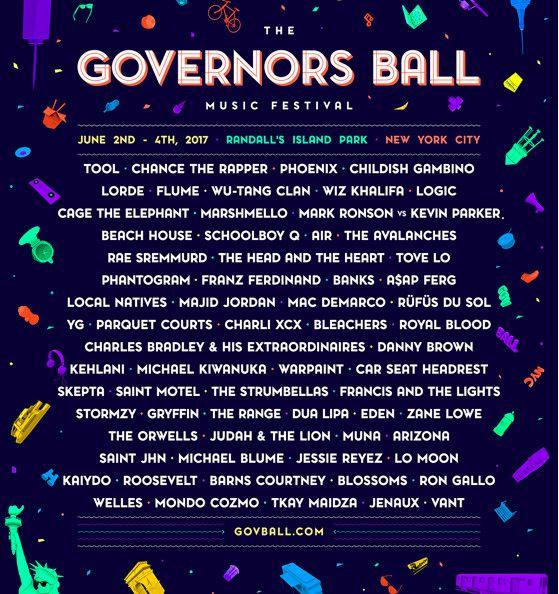 Gov Ball lineup
