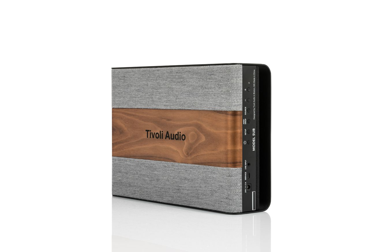 tivoli audio now sells an extremely branded subwoofer. Black Bedroom Furniture Sets. Home Design Ideas