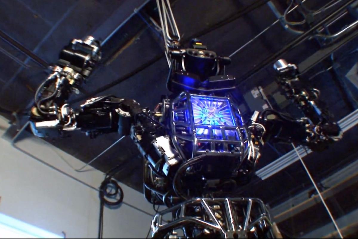 DARPA's Atlas robot by Boston Dynamics (Credit: DARPA)