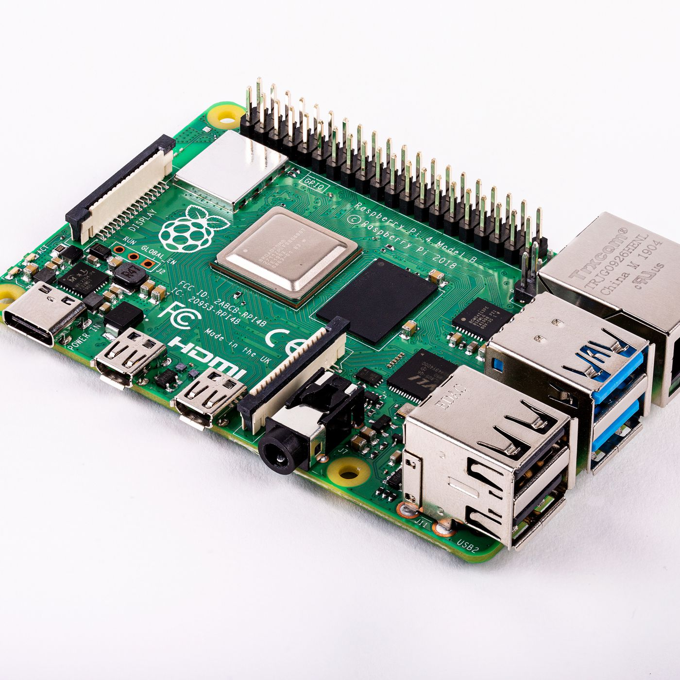 $35 Raspberry Pi 4 announced with 4K support and up to 4GB of RAM