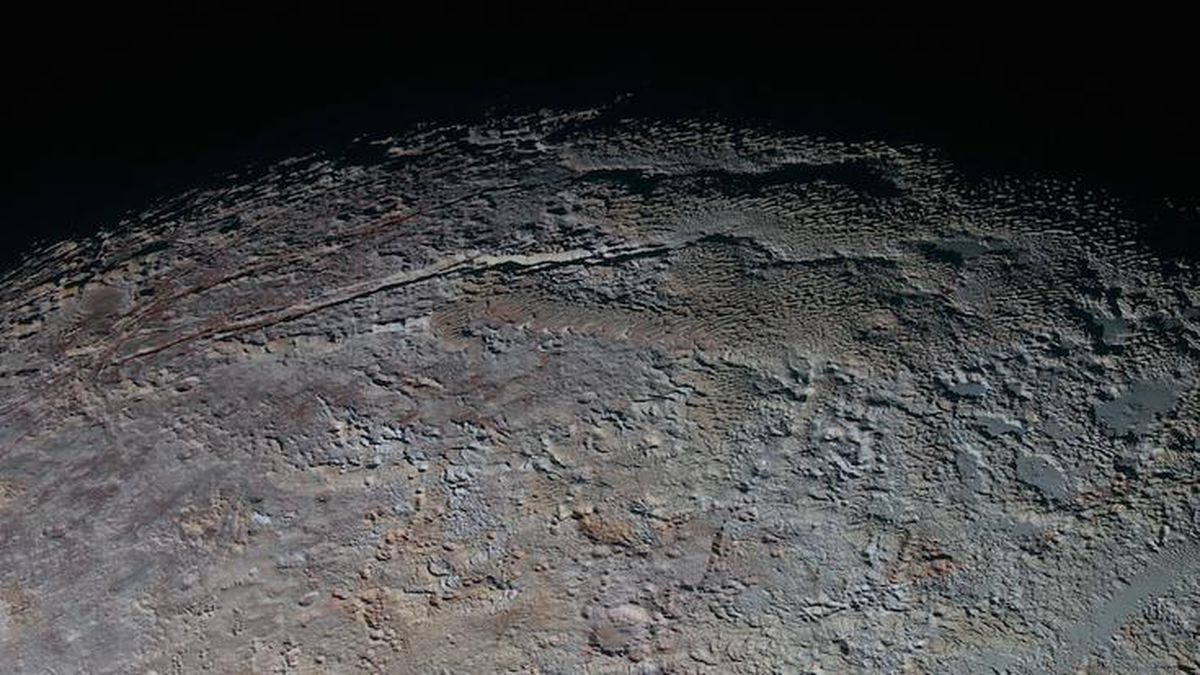 b6cc25a6c New Pluto images reveal mountain ranges textured like 'dragon scales ...