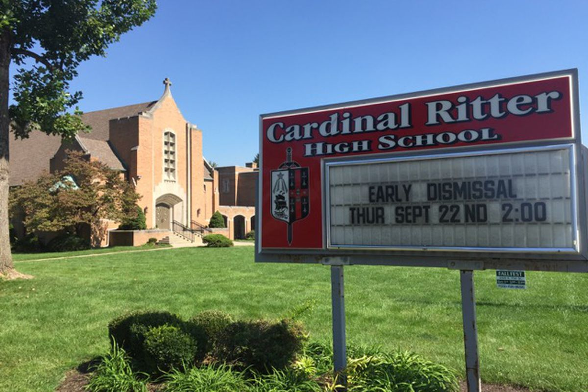 Cardinal Ritter High School has one of the highest percentages of students paying tuition with state-funded vouchers in Indiana.