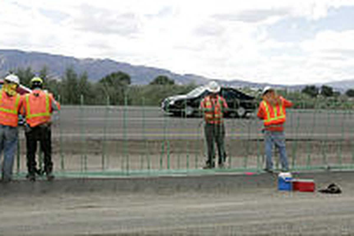 UDOT fears for the safety of workers adding car-pool lanes in Utah County.