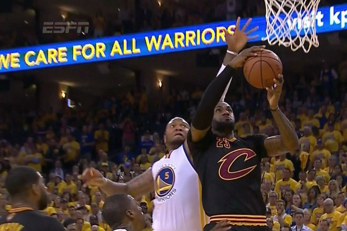 best service 69fdd ff101 Marreese Speights called LeBron James a baby so LeBron dunked all over him