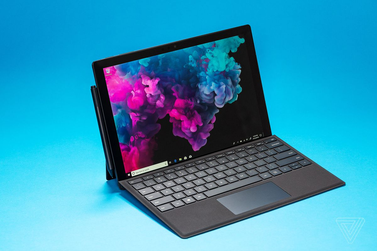 This black Microsoft Surface Pro 6 deal includes a Type