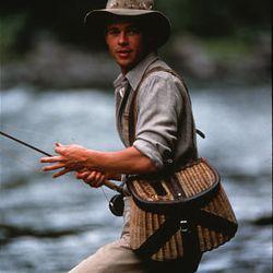 """Brad Pitt as Paul Maclean in """"A River Runs Through It."""""""