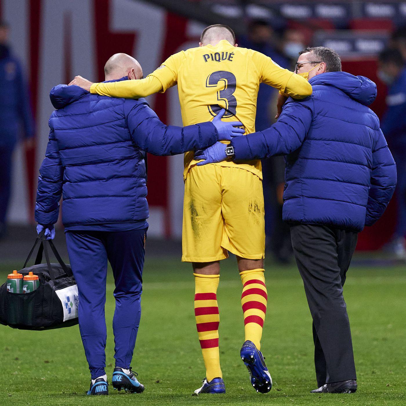Gerard Pique and Sergi Roberto pick up injuries against Atletico - Barca  Blaugranes