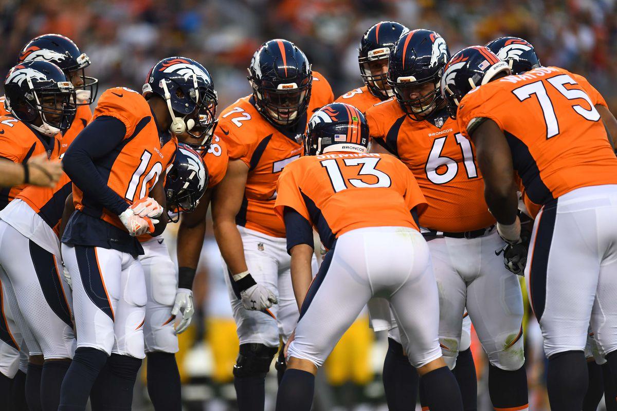 Broncos Release First Depth Chart Of Regular Season
