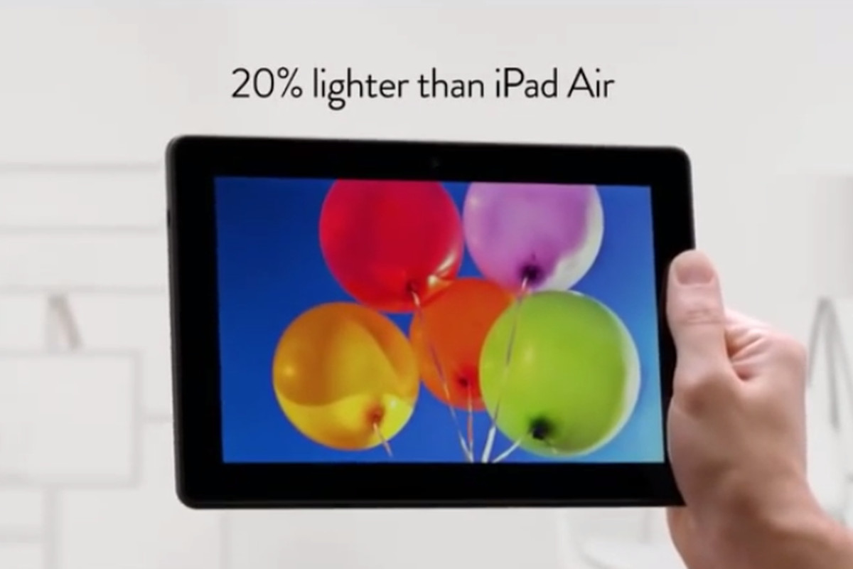 Amazon Kindle Fire commercial mocks the iPad Air with a Jony Ive