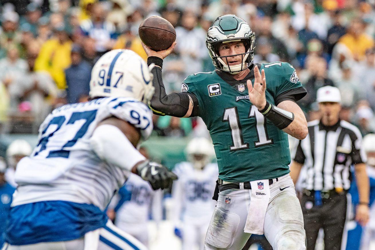 NFL: SEP 23 Colts at Eagles