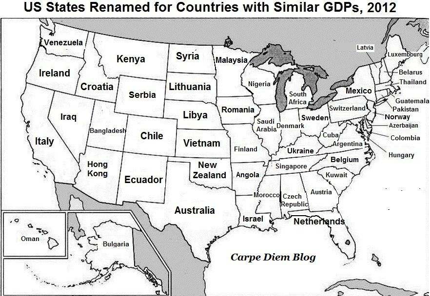 13 maps about America worth bringing up at dinner parties and/or ...