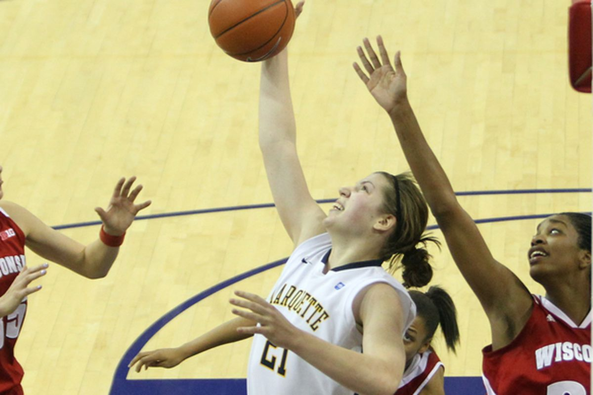 Rebounding is an underrated part of Katherine Plouffe's game.