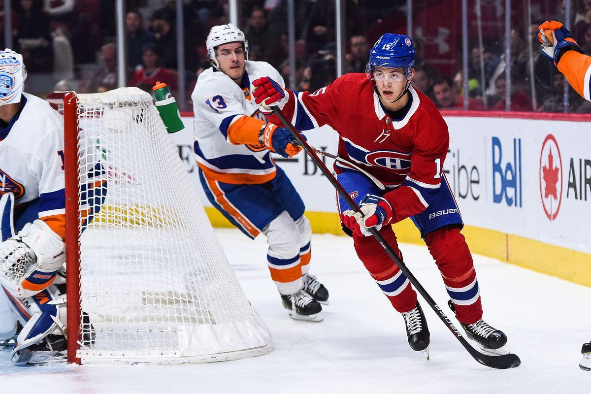 NHL: DEC 03 Islanders at Canadiens