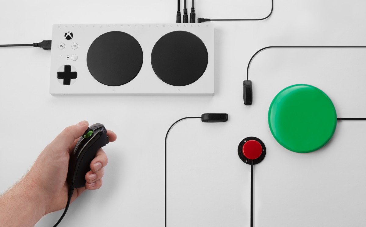 How to get Microsoft's Adaptive Controller working on Nintendo