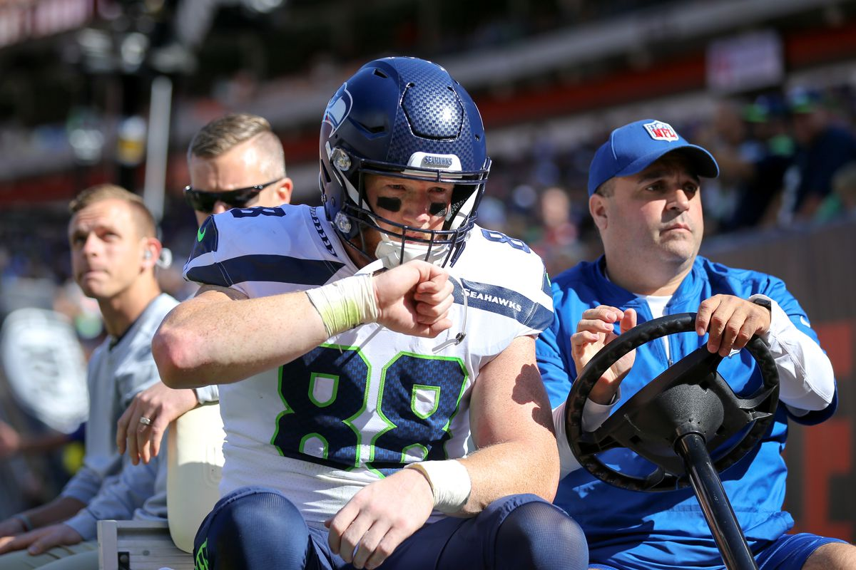 Reports indicate Seahawks believe Will Dissly is out for the year
