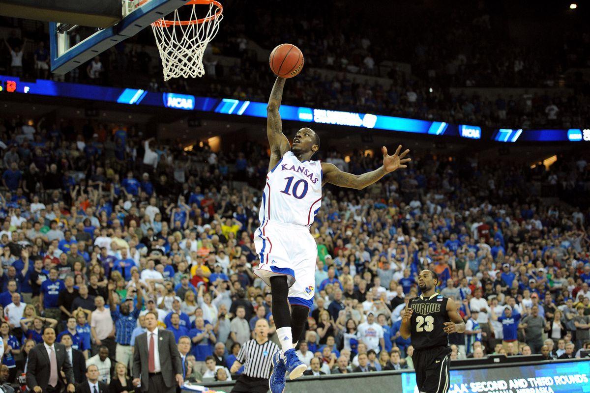 NCAA Basketball Tournament - Purdue v Kansas