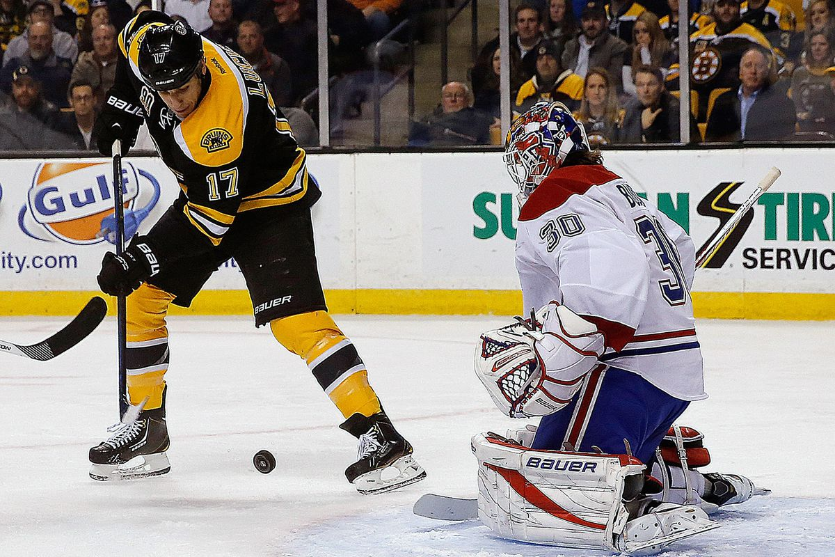 """""""Save by Budaj..."""" Milan Lucic takes a stab at it"""