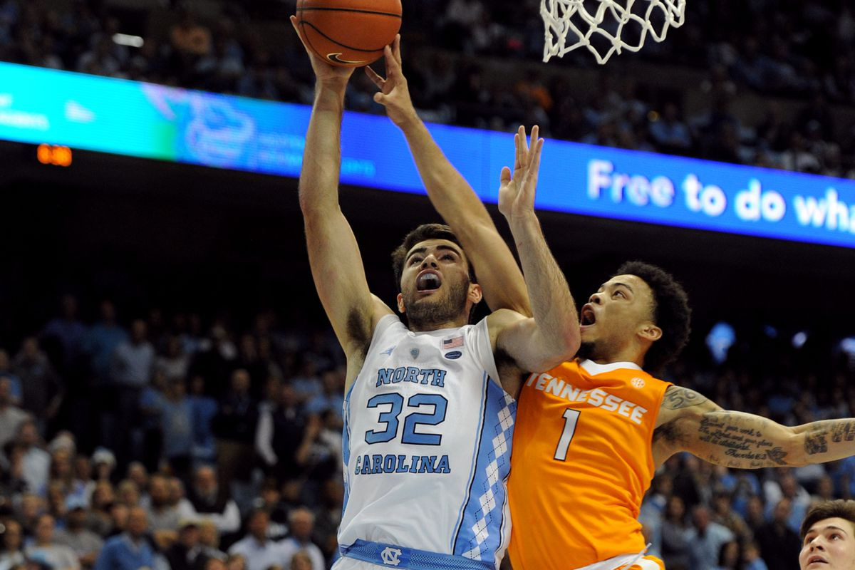 NCAA Basketball: Tennessee at North Carolina