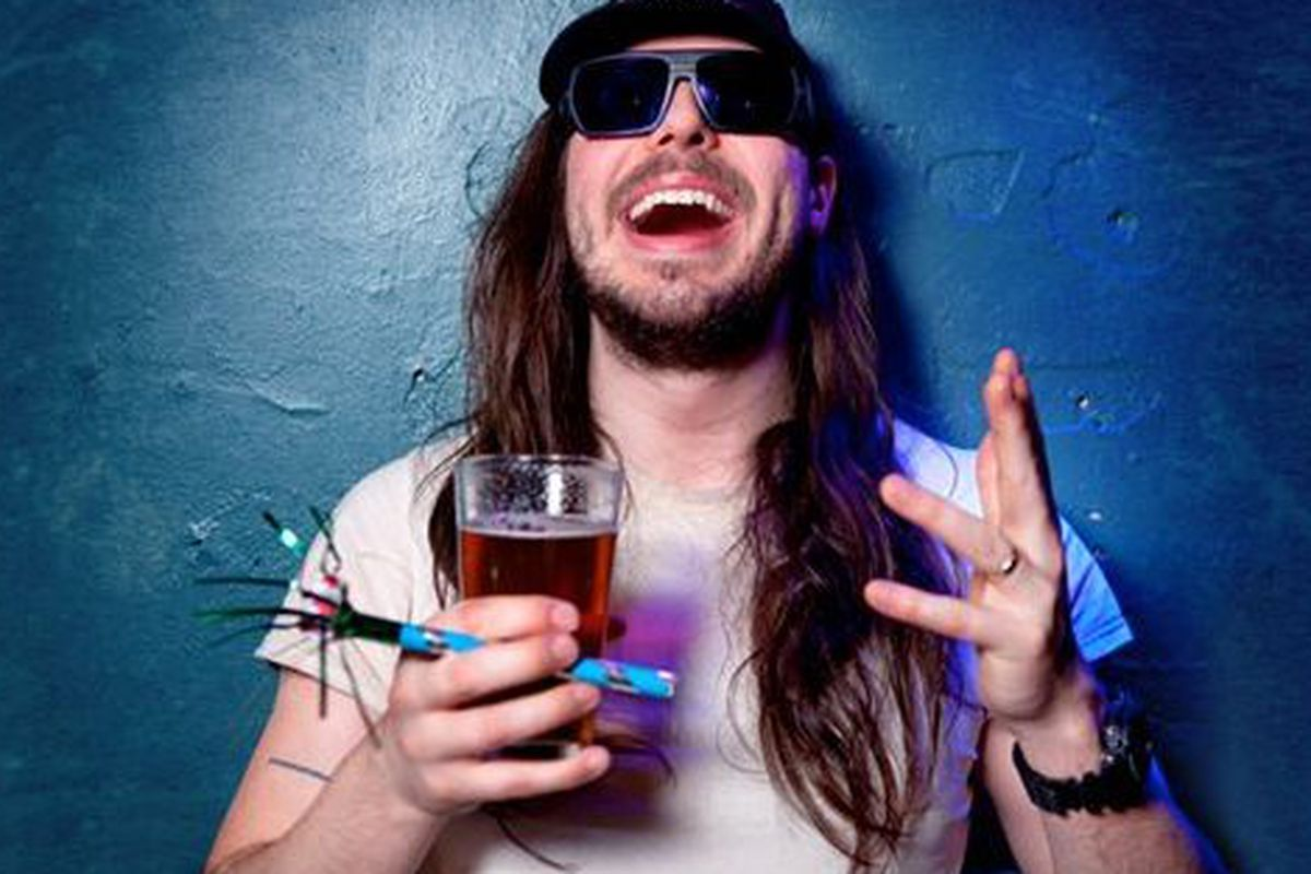 Andrew W.K. says pizza is healthy