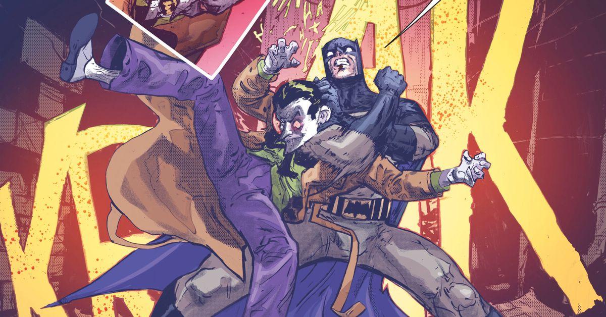 The terrible origin story of the Joker-Batman hybrid ...