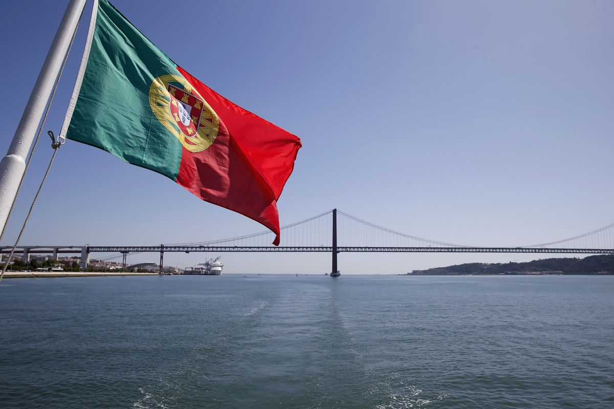 Portugal's flag.