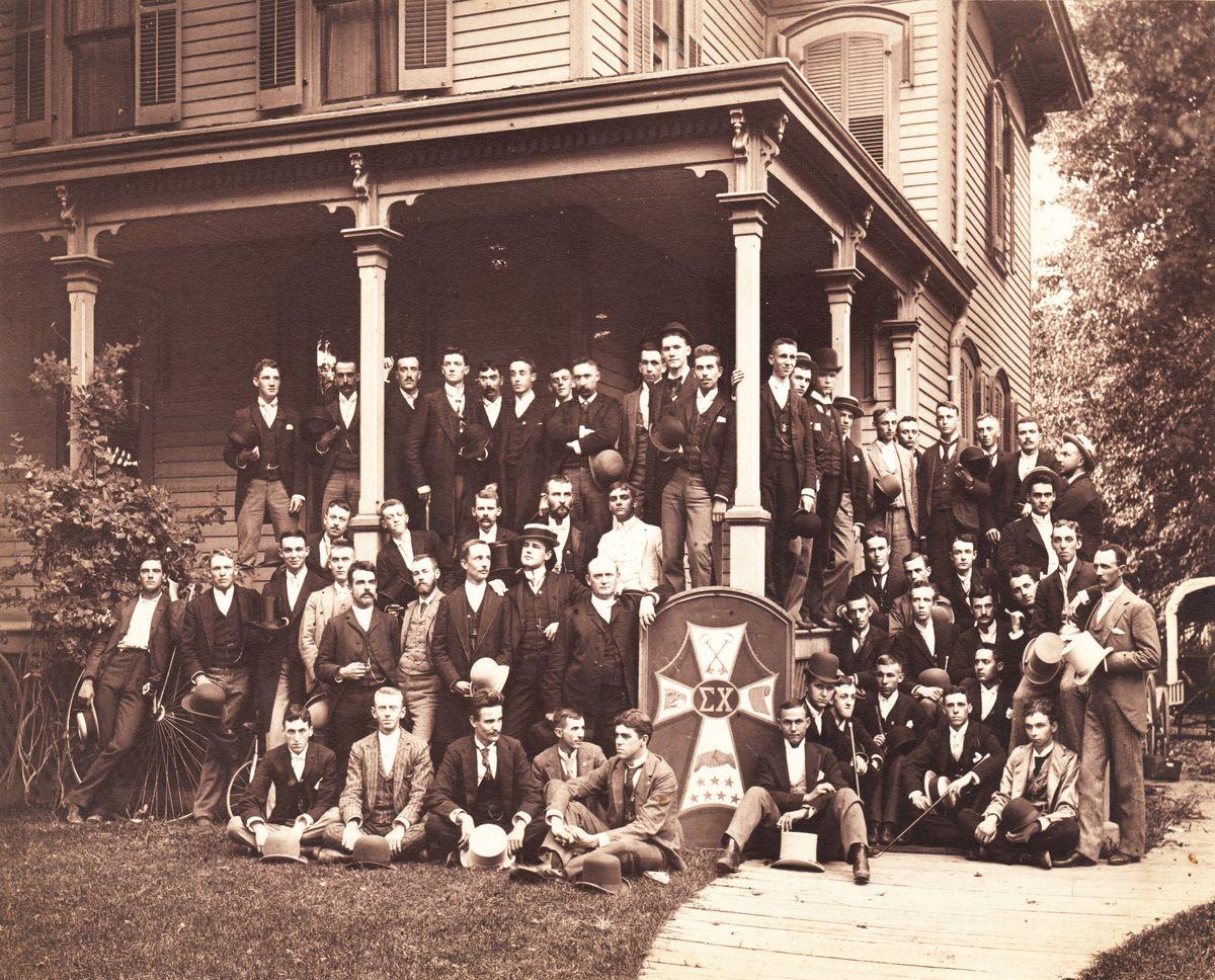 Sigma Chi Colorado College 1895