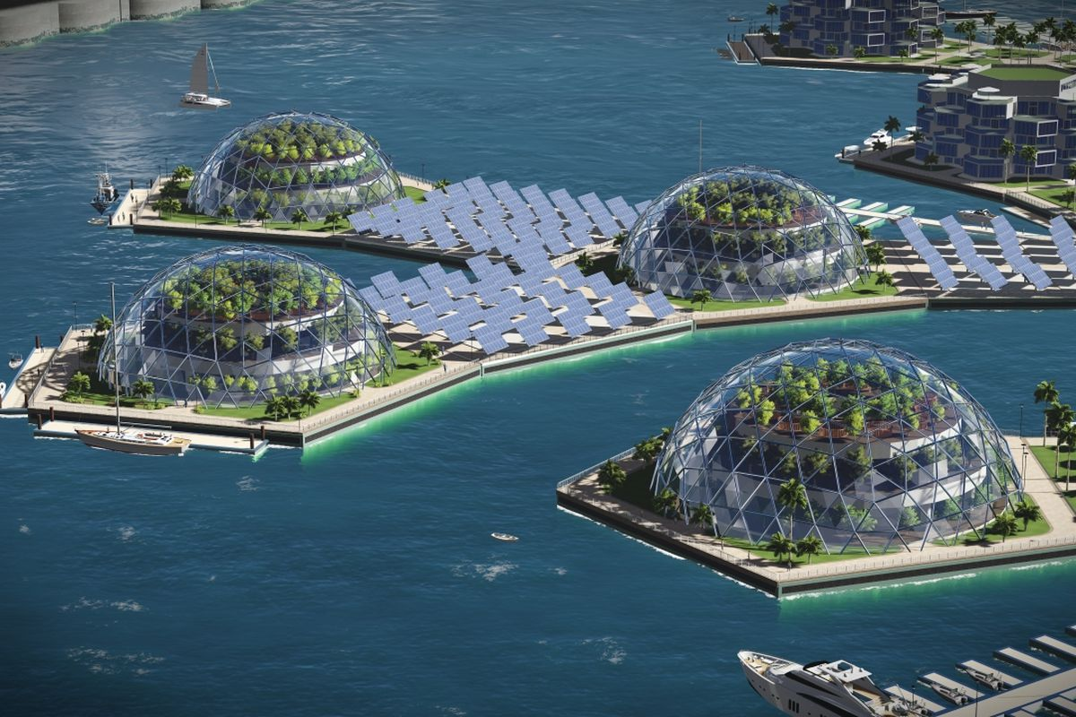 Could Miami House These Floating Artificial Islands To