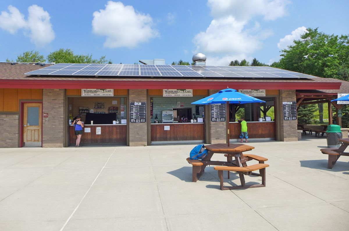 Lake Taghkanic concessions stand