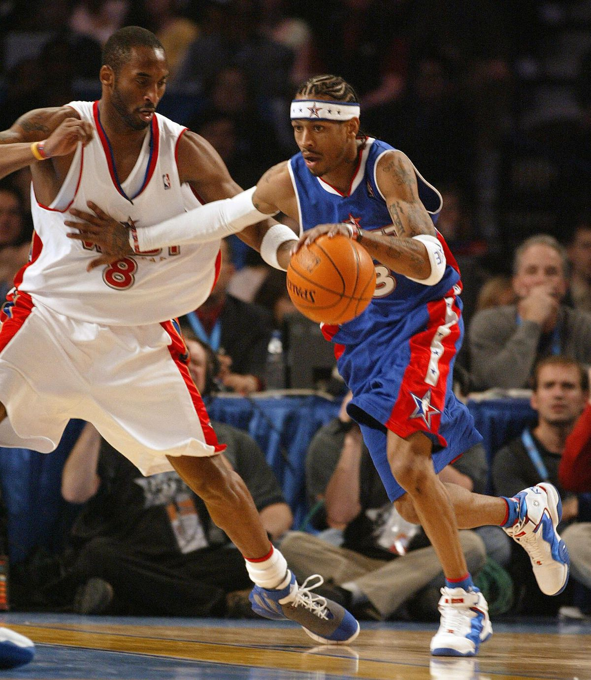 Allen Iverson of the Eastern Conference