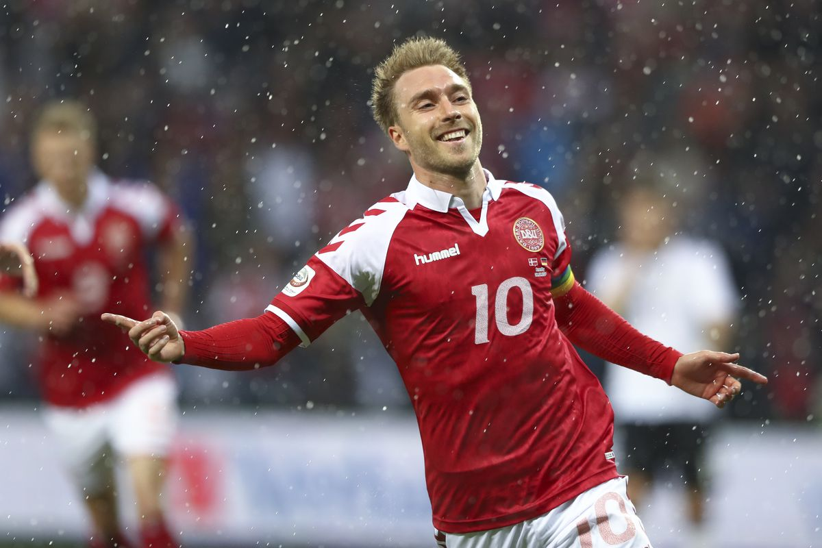 WATCH Christian Eriksen scores amazing goal for Denmark vs
