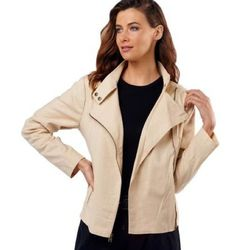"""<a href=""""http://www.qvc.com/Luxe-Rachel-Zoe-Linen-Blend-Jacket-with-Stand-Collar-Fashion.product.A224896.html?sc=A224896-Targeted&cm_sp=VIEWPOSITION-_-83-_-A224896&catentryImage=http://images-p.qvc.com/is/image/a/96/a224896.001?$uslarge$""""> <b>Luxe Rachel"""