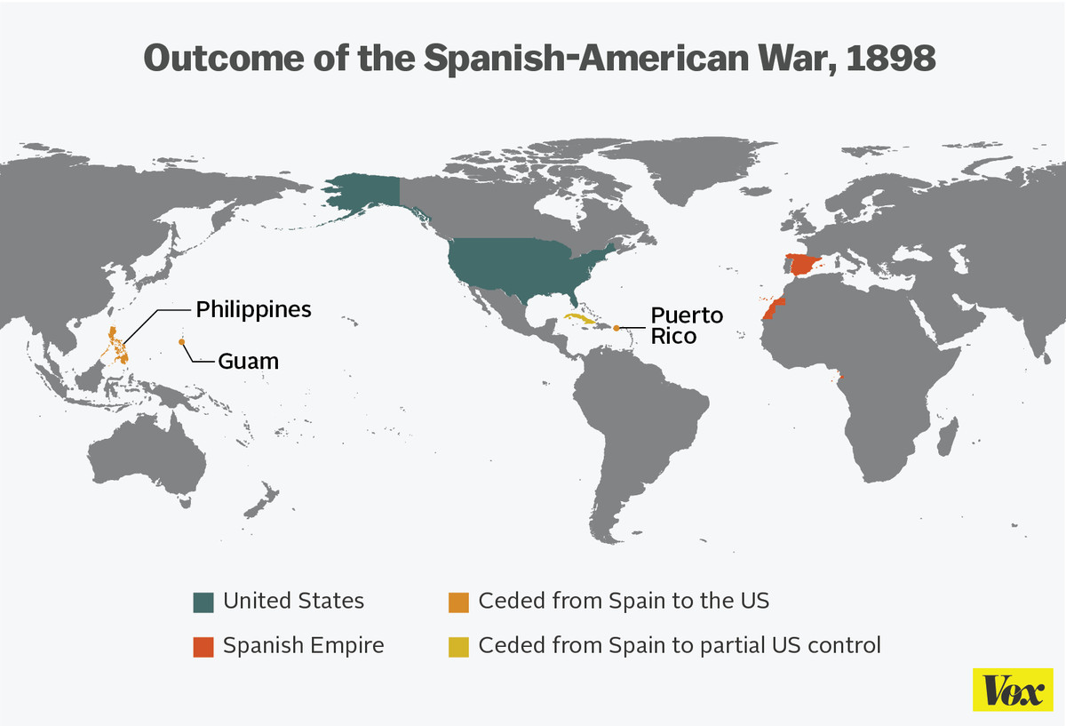 How america became the most powerful country on earth in 11 maps vox if there was a single moment when the us became a global power it was the war with spain the spanish empire had been crumbling for a century gumiabroncs Image collections