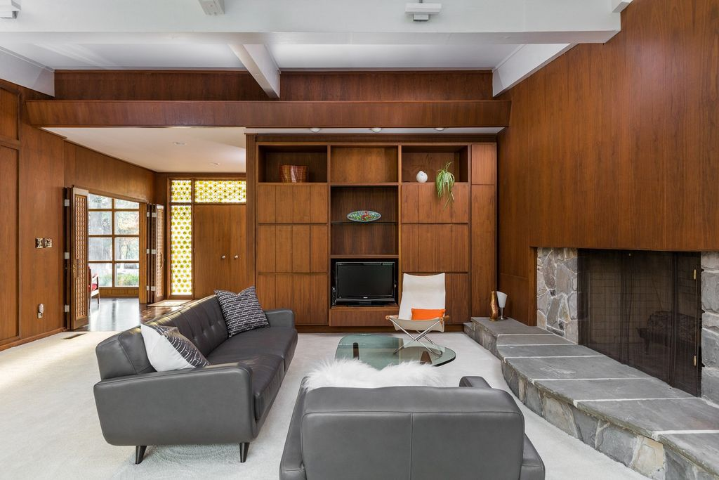Updated Midcentury Modern Home With Unique Layout Asks 1