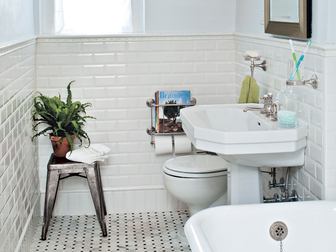 Bath Gets A Classic Redo 1920s Style This Old House