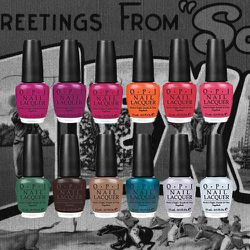 <strong>OPI</strong>'s Texas collection was as hot and spicy as the Lone Star state itself, with color names like Do Ya Think I'm Tex-y, Guy Meets Galveston, and It's Totally Fort Worth It.
