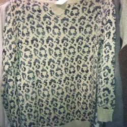 Joie Leopard Sweater, $50