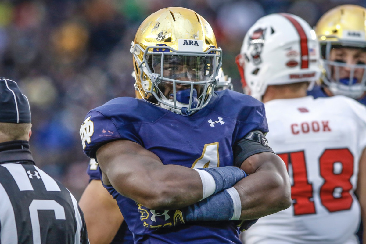 Notre Dame Football Te Von Coney Goes On The Record With Interview