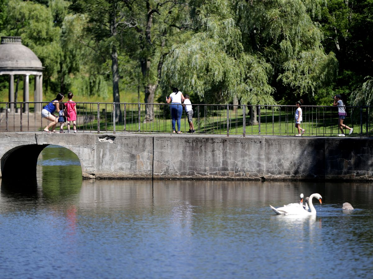 A photo Brookline's Larz Anderson Park
