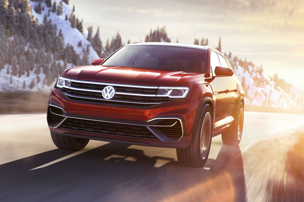 Coming Off Its Dizzy Vision Of The Future In Geneva Volkswagen Brought Things Back To Reality At New York International Auto Show With Suv And