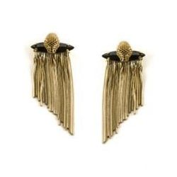 Fringe is everywhere for spring. It's metallic leather and fringe on necklaces, earrings, bracelets and handbags of course, but also on kimonos, blouses, skirts, dresses and shorts. Fringe always adds just a touch of bohemian spirit to whatever you're wea