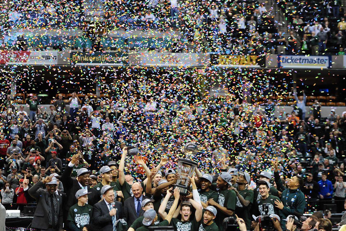 NCAA Basketball: Big Ten Conference Tournament-Michigan State vs Purdue