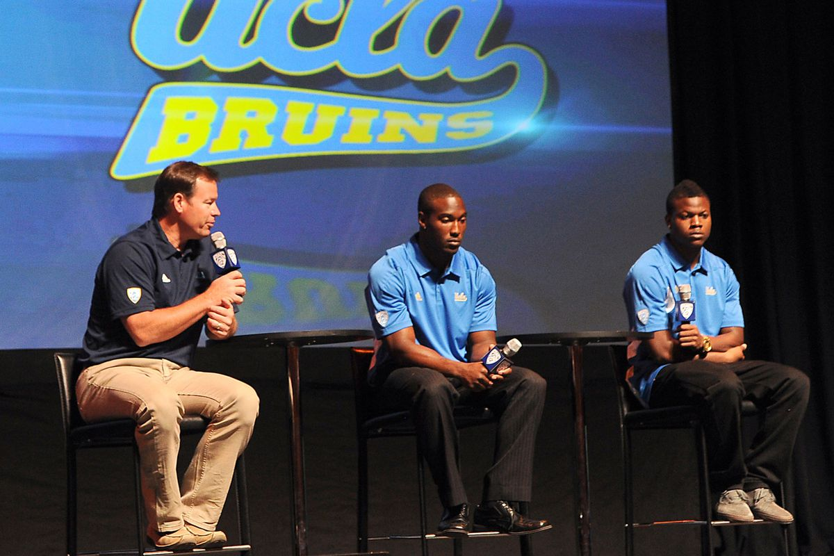 UCLA got a lot of the same out of media day.