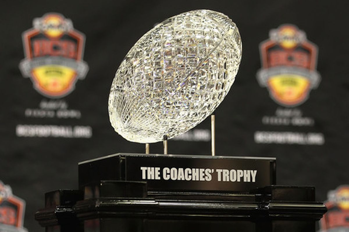 I'm sure the trophy will survive