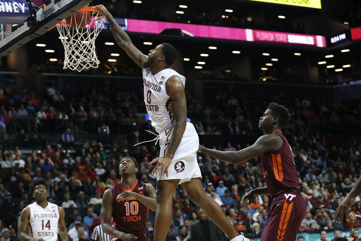 NCAA Basketball: ACC Conference Tournament-Florida State Seminoles vs Virginia Tech Hokies
