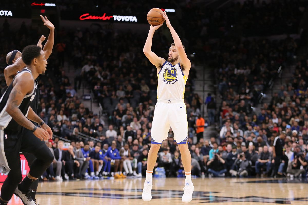 NBA Golden State Warriors at San Antonio Spurs