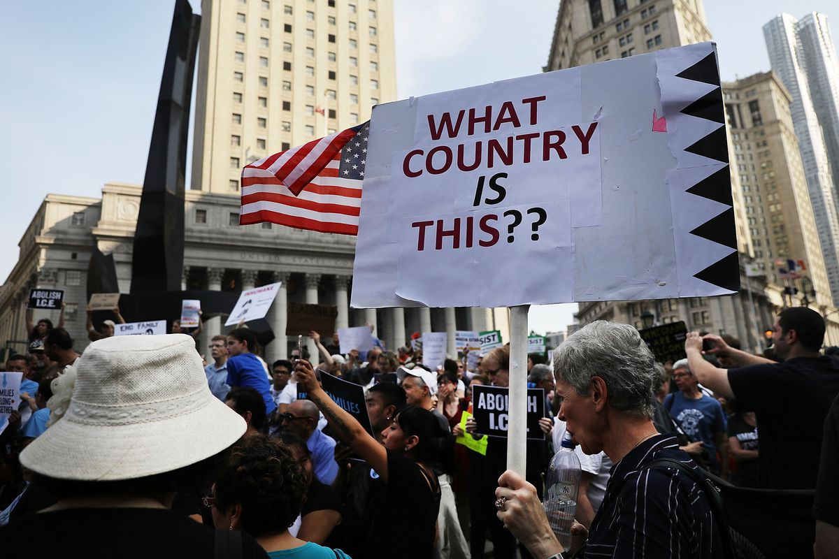 """Dozens of """"Families Belong Together"""" rallies are planned for Thursday, June 14th to protest the Trump administration's practice of separating children from their parents at the US/Mexico border. The administration has separated hundreds of families, mostl"""
