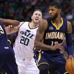 How The Paul George Trade Can Help The Utah Jazz Keep Gordon Hayward Deseret News
