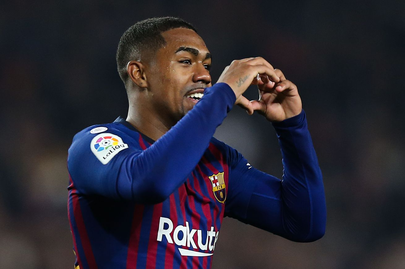Malcom?s watched his goal against Real Madrid 100 times