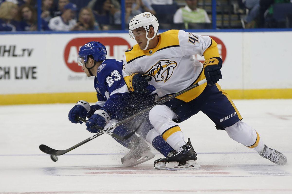 NHL: Preseason-Nashville Predators at Tampa Bay Lightning
