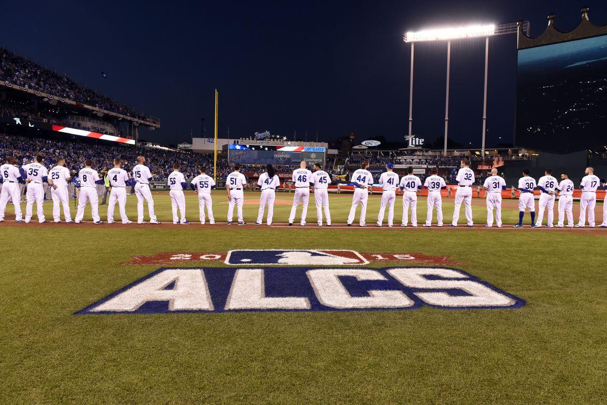 American League Championship Series: Toronto Blue Jays v. Kansas City Royals - Game One